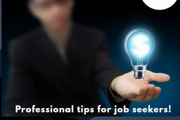 Professional tips for job seekers